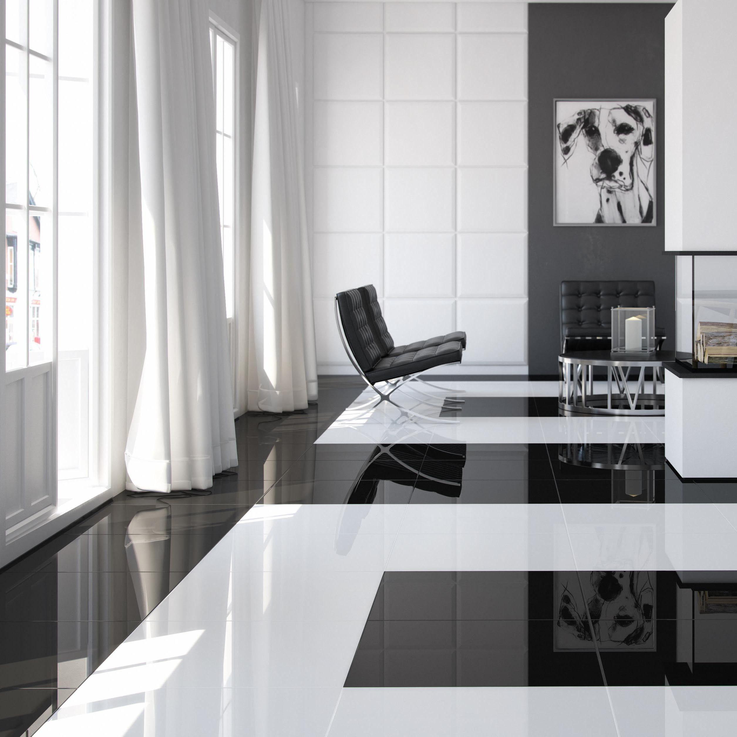 Overstock Com Online Shopping Bedding Furniture Electronics Jewelry Clothing More Black Floor Tiles Ceramic Floor Porcelain Flooring