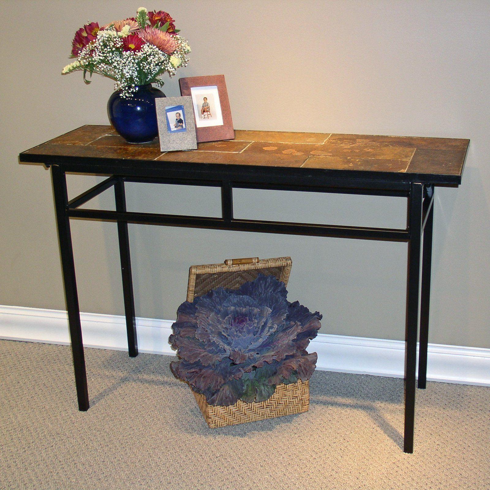 4D Concepts Slate Sofa Table   $172.99 @hayneedle