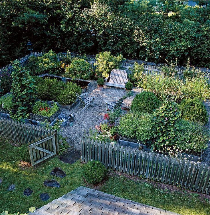 Lassen Sie Ihren grünen Daumen nicht durch einen Mangel an Land behindern. - garten-ideen #ediblegarden