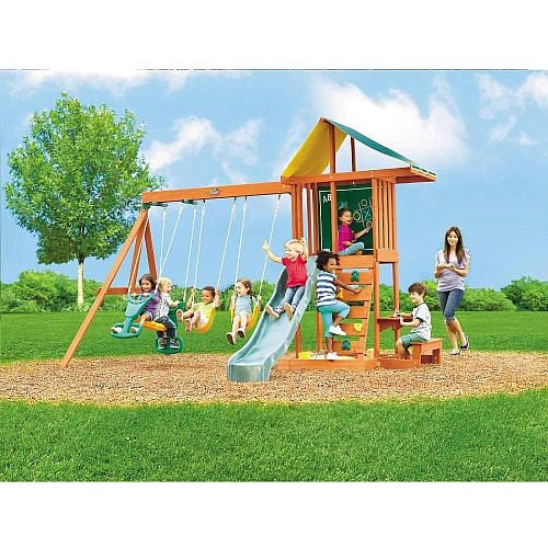 "Springfield Wood Gym Set - Big Backyard - Toys ""R"" Us ..."