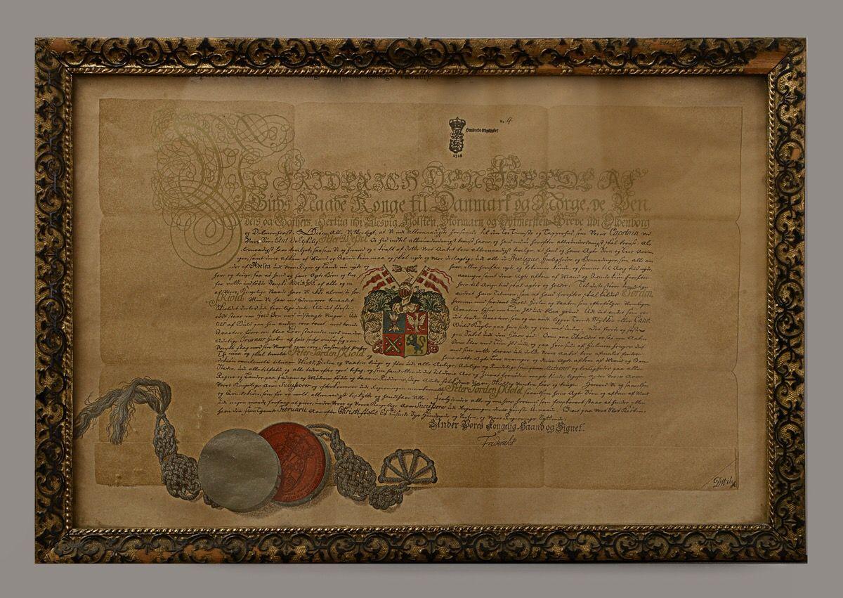 Tordenskjold adelspatent   Norwegian heraldry - Norsk heraldikk ...