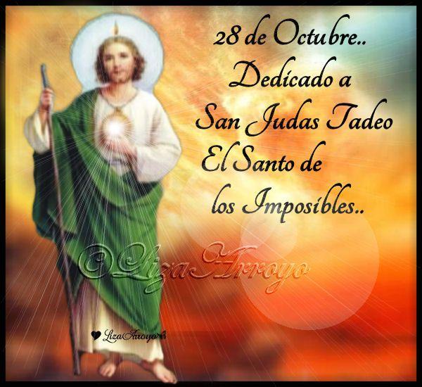 San Judas Tadeo Frases Para El Día Pinterest
