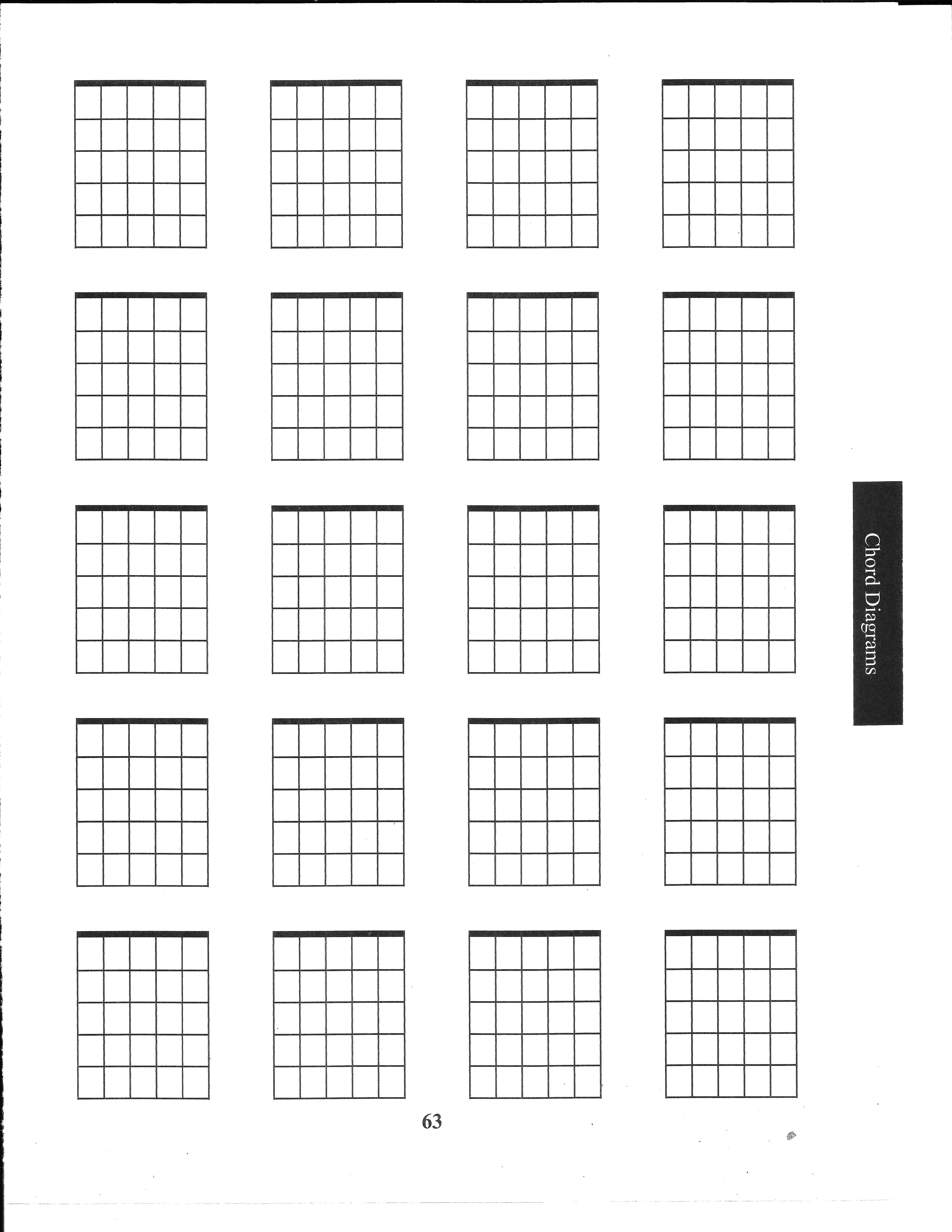 blank chord diagram sheet for guitar. | guitar | pinterest | guitar