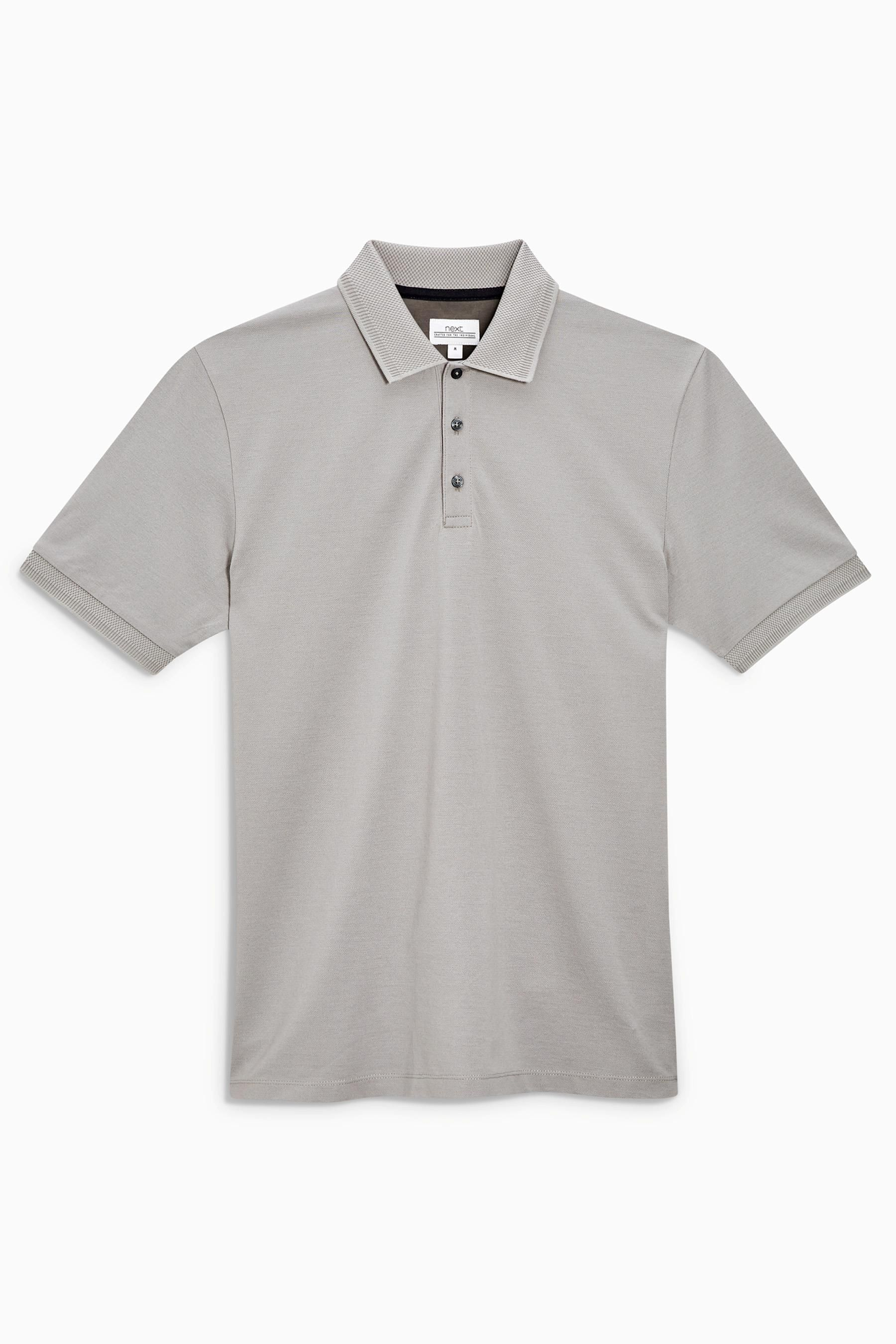 Polo shirts · Buy Grey Premium Pique Polo from the Next UK online shop