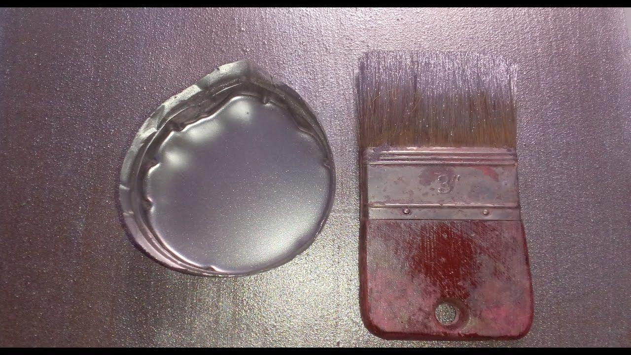 طريقة تركيب اللون الفضي البودرة أرخص و أفضل لون فضي للجبس و الأخشاب و الحديد و