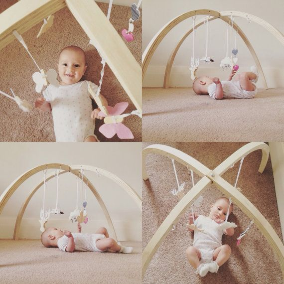 Baby Holzspiel Gym Schwarz Und Wei 223 Spielzeug Von