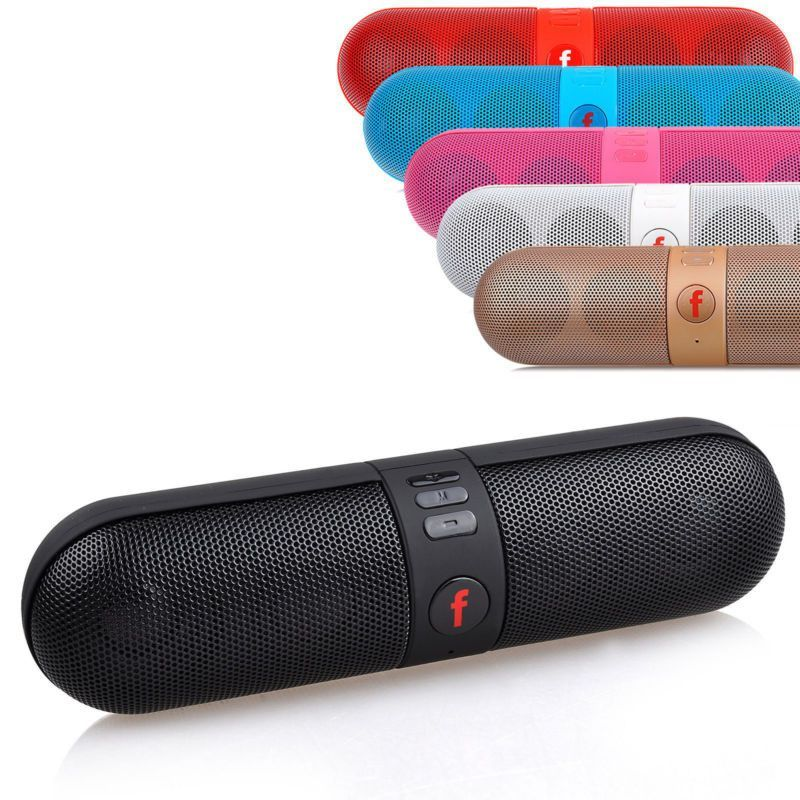 Portable Shockproof Bluetooth Speaker