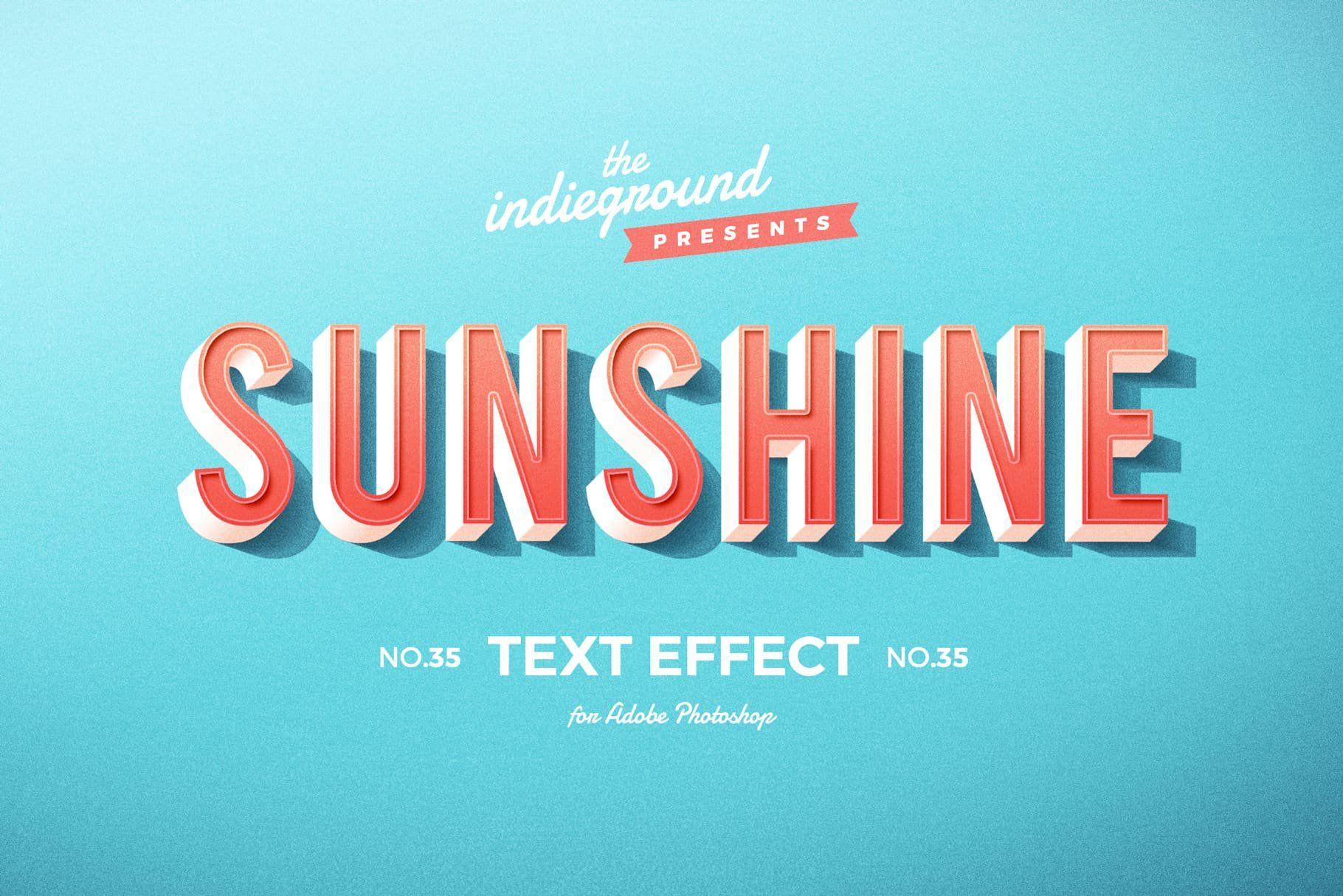Retro Text Effects Complete Bundle Retro Text Text Effects Vintage Text