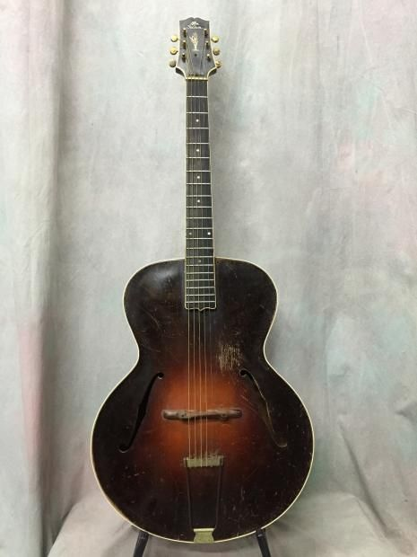 Gibson L5 1929 Sunburst Reverb With Images Gibson Acoustic