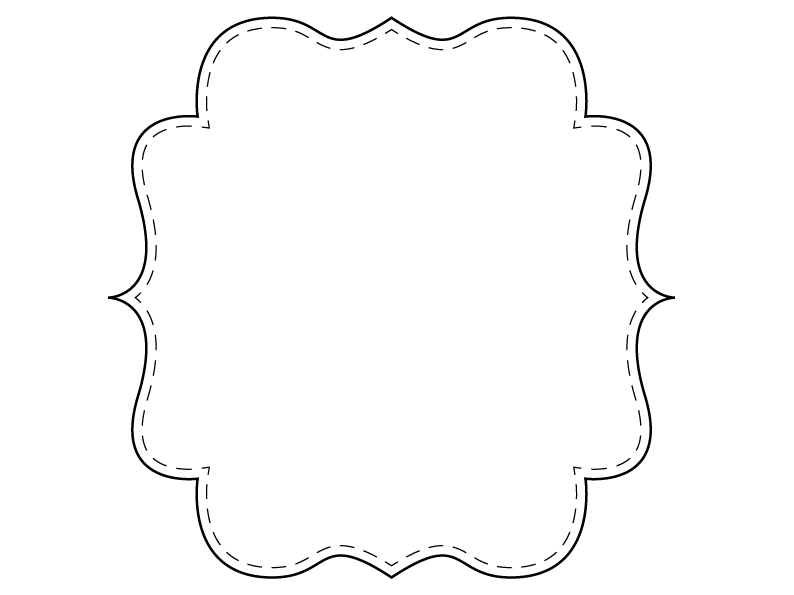 Bracket Frames From Puresweetjoy Templates Printable Free Frame Clip Art