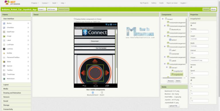 Arduino Robot Car Wireless Control using HC05 Bluetooth
