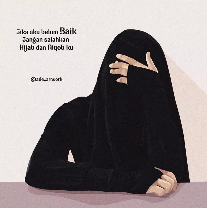 Gambar Wanita Muslimah Bercadar Cantik Dan Anggun Modifikasi Muslim Quotes Islamic Love Quotes Islamic Quotes