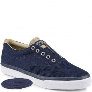 STS13249 Sperry Men's Striper LL CVO Knit Sneakers - Navy