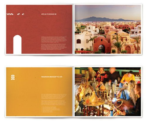 Creative Brochure Design Samples For Inspiration  Taite Gallery
