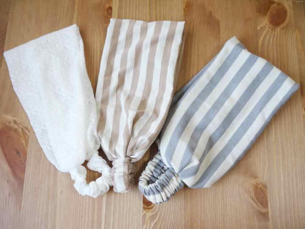 幅広カチュームの作り方 ソーイング 編み物 手芸 ソーイング
