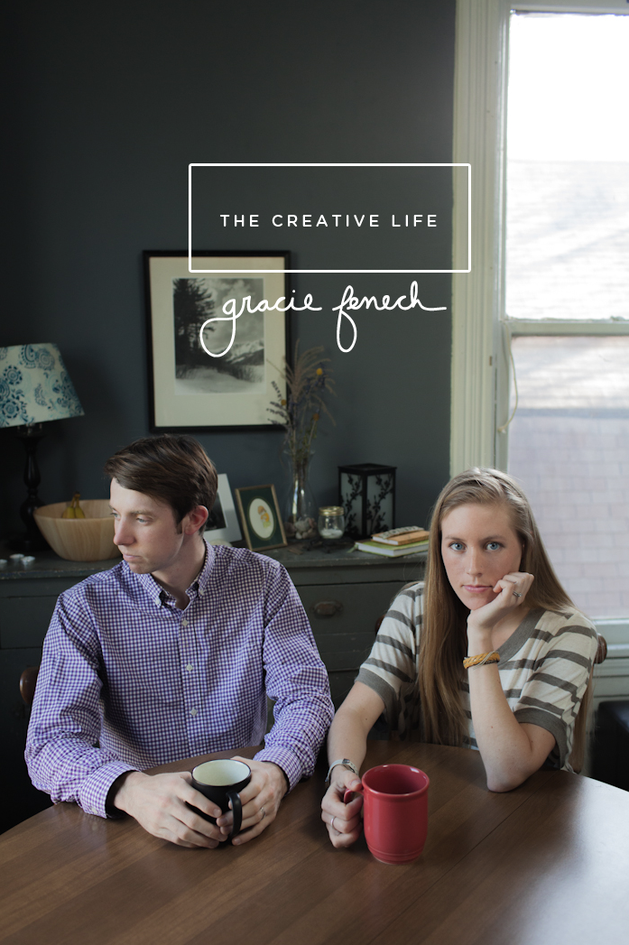The Creative Life featuring Letterpresser, Gracie Fenech  |  Shot by Bryan and Mae