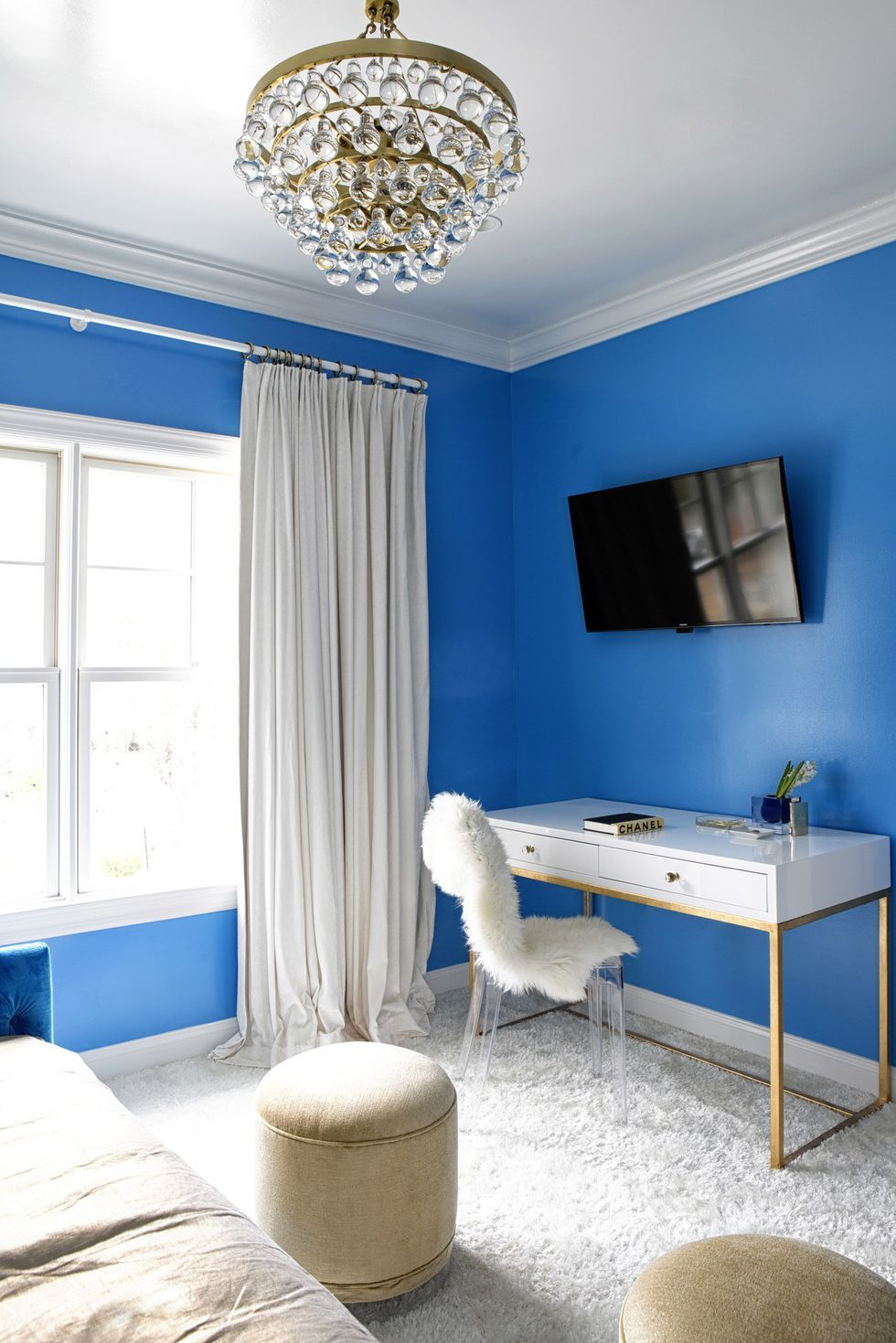 These Gorgeous Rooms Will Tempt You To Experiment With Color Bright Living Room Room Color Design Colorful Bedroom Design