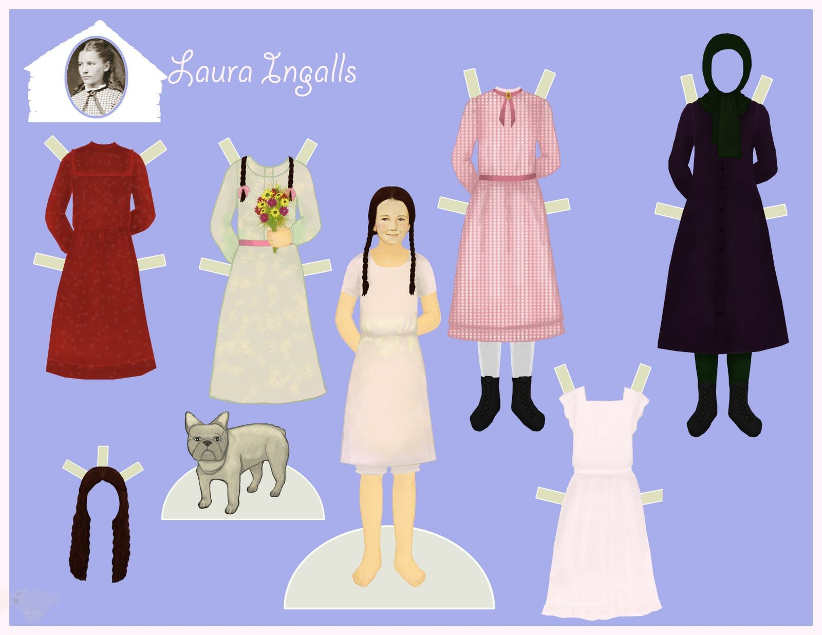 Hermosa Laura Ingalls Wilder Para Colorear Cresta - Dibujos Para ...