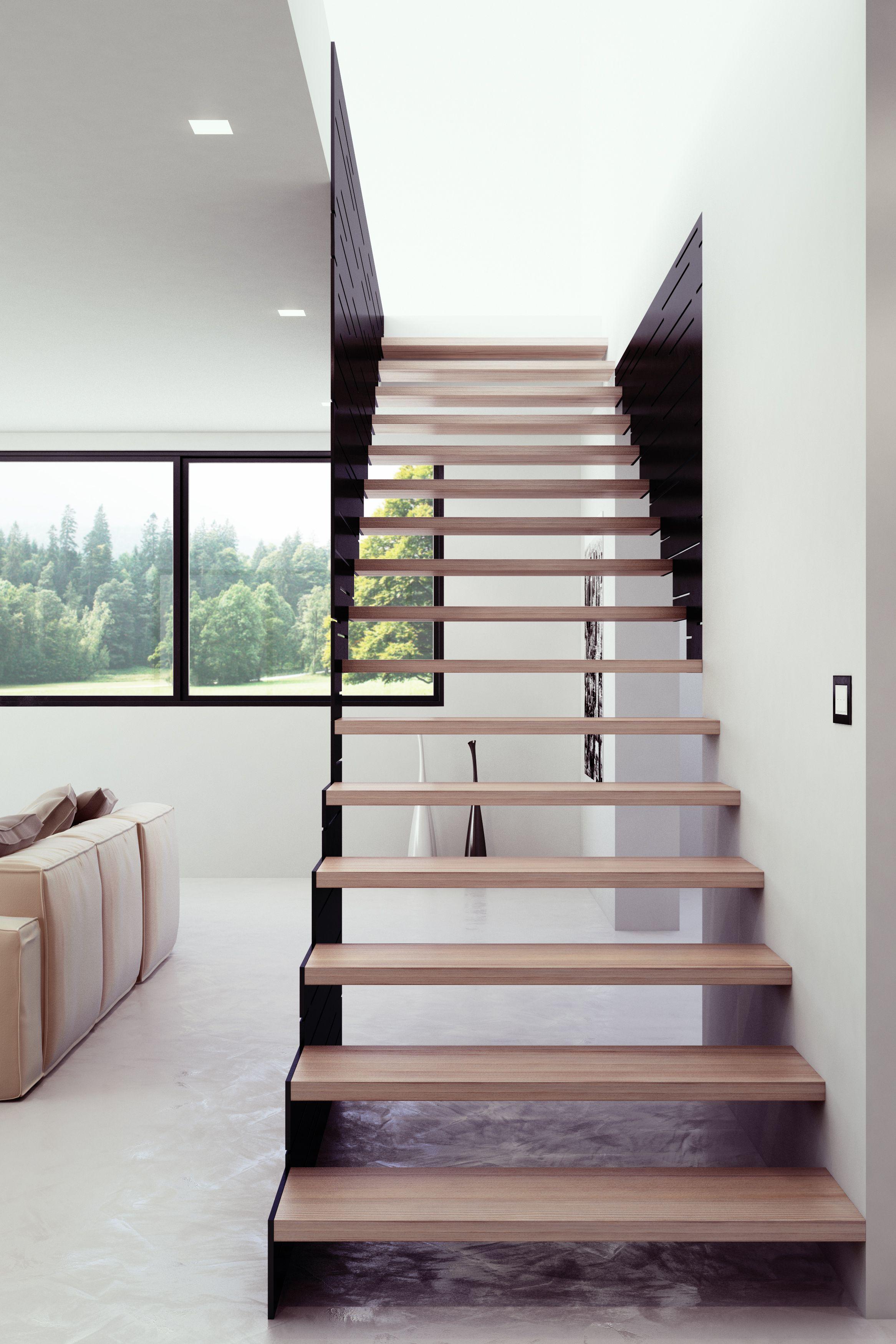 Il concetto di scala a giorno secondo interbau styling design madeinitaly mod 500 scale - Scale di design ...