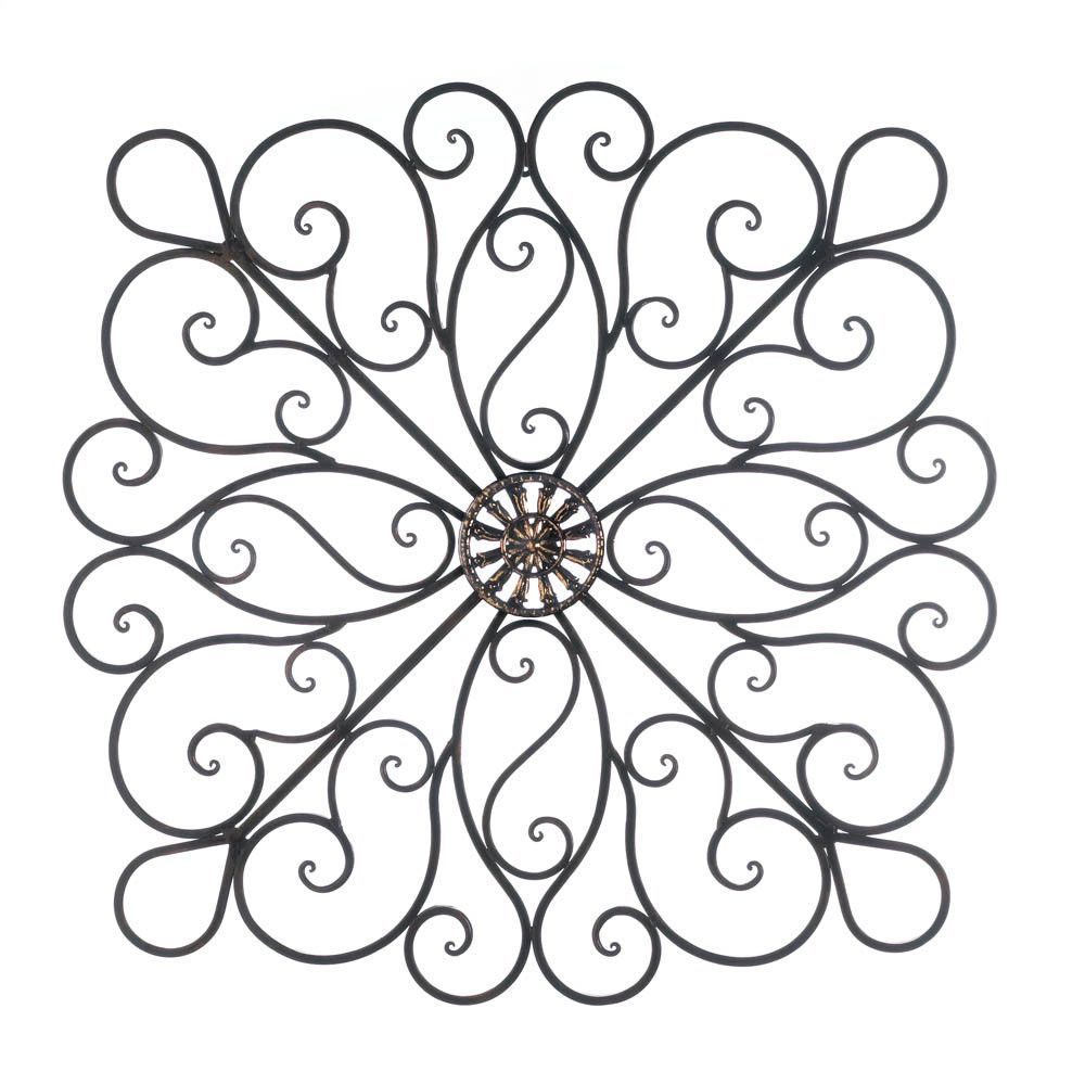 Iron Scrollwork Wall Decor Scrollwork Wall Decor  Iron Decor Wrought Iron And Wall Decor