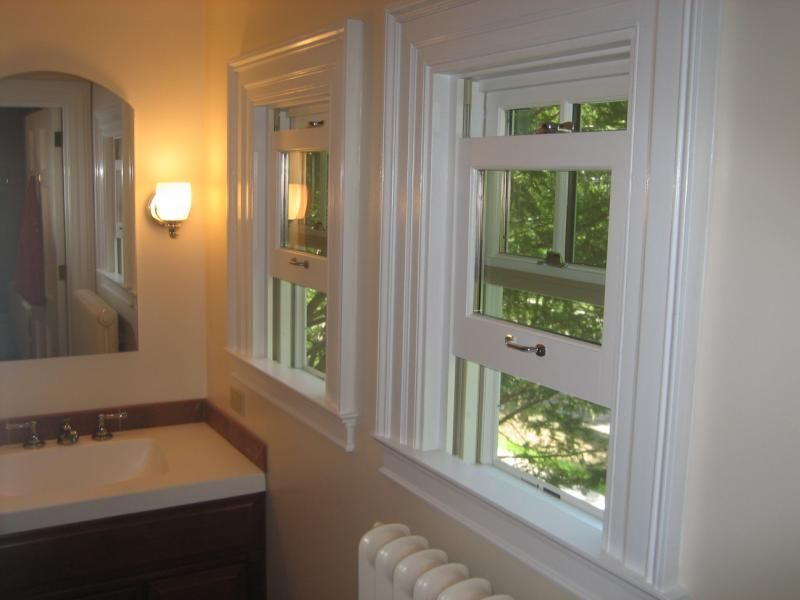 windows allow for great ventilation in a bathroom | Home ...
