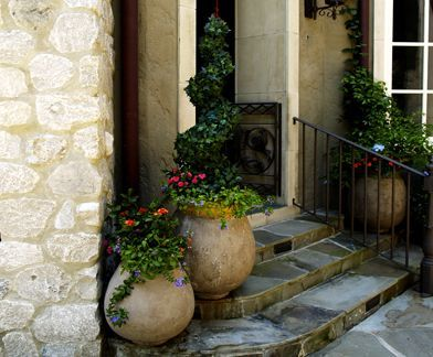 Spring Patio Ideas | Houston Spring Pottery, Big And Small Planters, Garden  Planters .