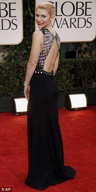 Golden Globes Claire Danes