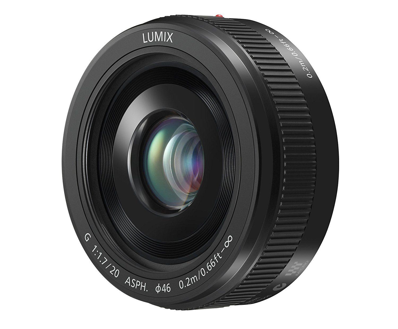 Amazon Com Panasonic Lumix G Ii Lens 20mm F1 7 Asph Mirrorless Micro Four Thirds H H020ak Usa Black Compact Panasonic Lumix System Camera Panasonic