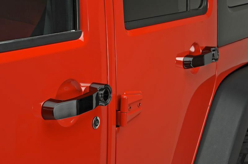 Rampage Products Door Handle Jeep Parts And Accessories Quadratec Jeep Doors Door Handles Jeep Wrangler Doors