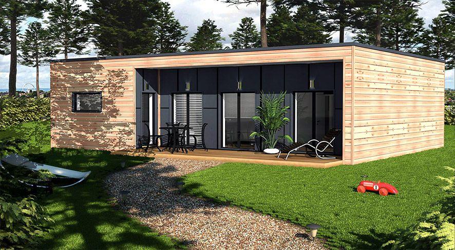 maison bois loire