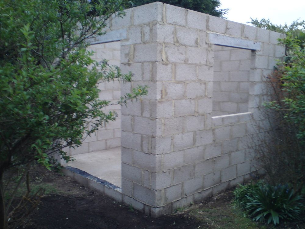 Download Building A Shed On Concrete Blocks Brick Shed Shed Building Plans Concrete Sheds