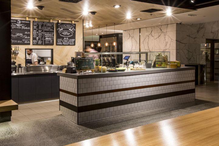Tap Espresso And Salad Bar By Morris Selvatico Sydney Australia Retail Design Blog Salad Bar Restaurant Interior Retail Design Blog