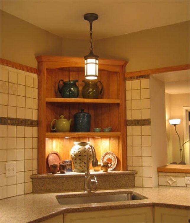 Idei pentru bucatarie: o chiuveta de colt - imaginea 5