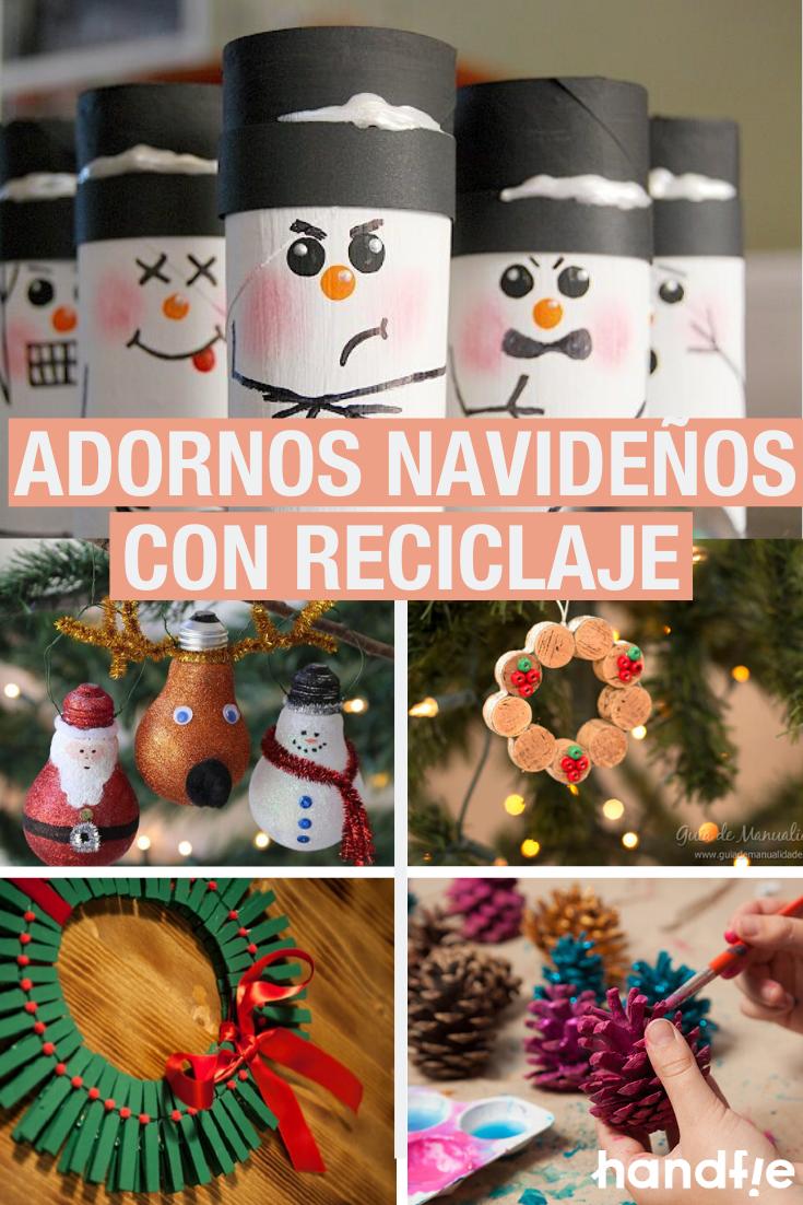 Adornos Low Cost Para Esta Navidad Adornos Navidenos Adornos De Navidad Ideas Manualidades