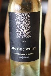 So I love Apothic Red..and they have now released their new blend..Apothic White. Its a Chardonnay, Riesling  Moscato Blend. Im not a huge fan of Chard or Riesling, but it was surprisingly delicious! Its not bitter like a chard or dry like a riesling, it finishes like a moscato. Very smooth and not too sweet...I think this may be the wine of my summer! =) Oh and it was $8.99
