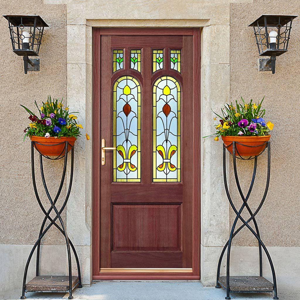 Camden Exterior Hardwood Door With Tulip Double Glazing Camden And