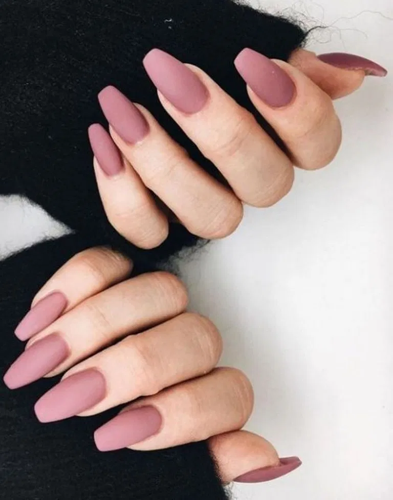27 Classy Nail Art Design For Winter 7 With Images Mauve Nails Classy Nails Pink Nails