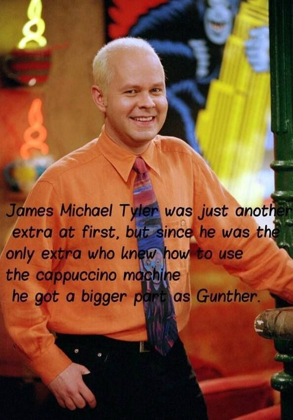 Gunther's one if the stranger characters but he's still awesome!