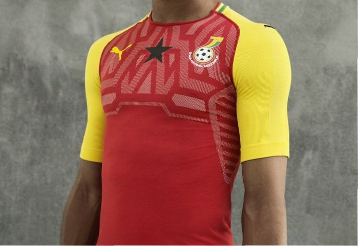 72a07fe6309 Ghana 2018 19 PUMA Home Kit World Soccer Shop