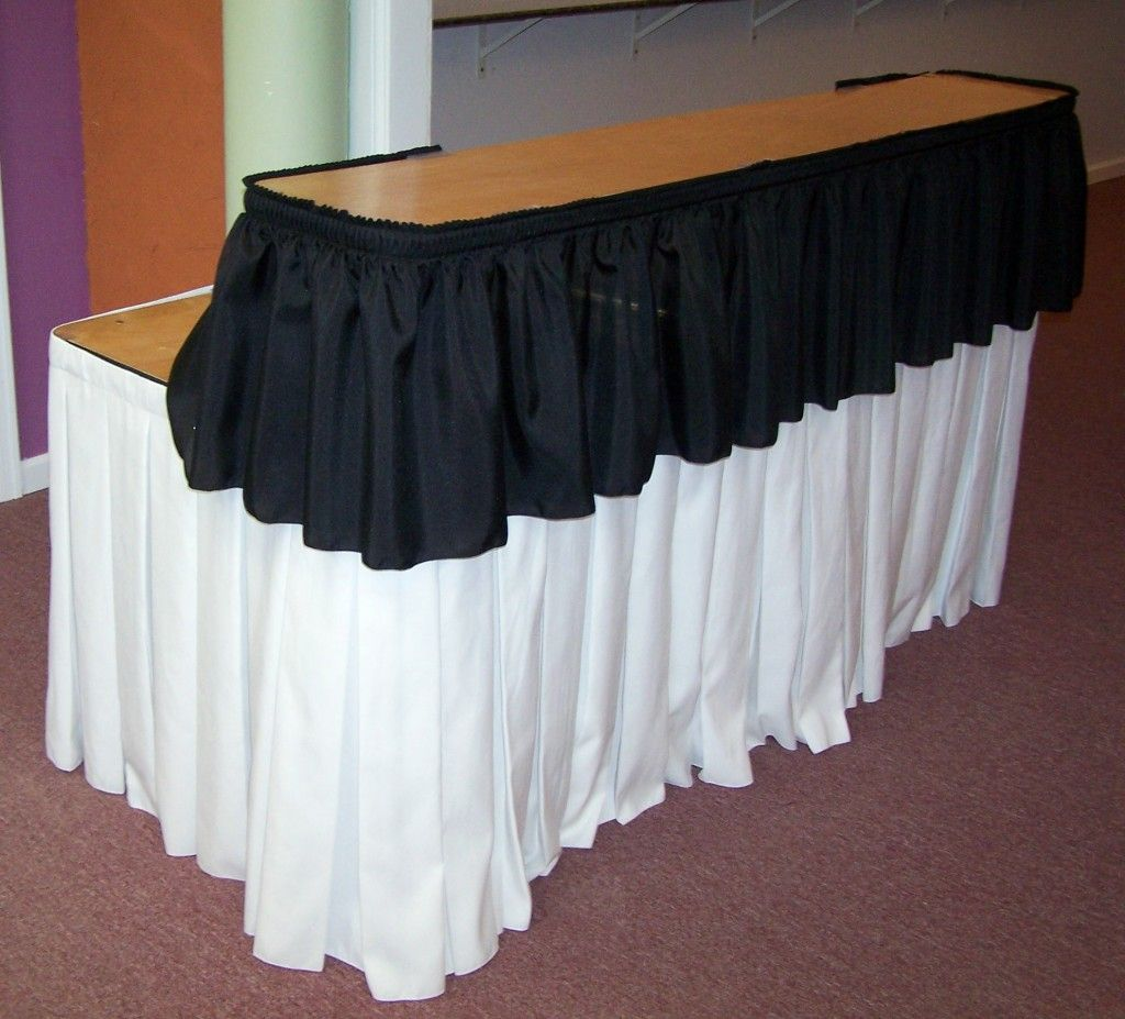 Wedding Pub Tables   Rectangular Bar Includes Skirts $ 47 7 Serpentine Bar  Skirts .