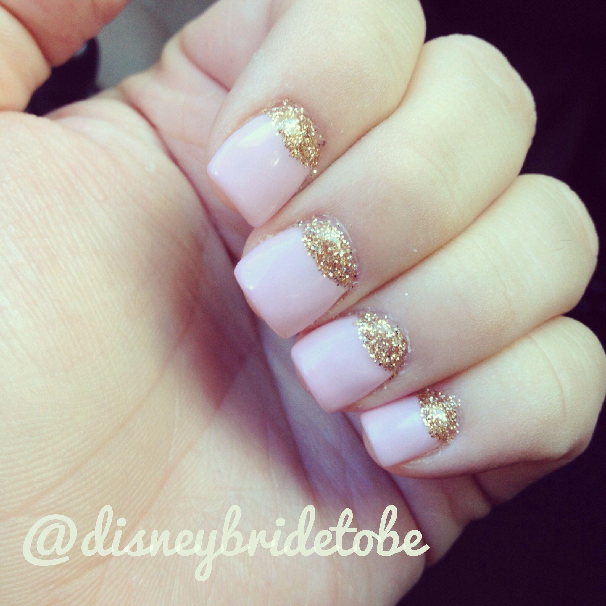 Sleeping Beauty Nail Art: Sleeping Beauty Nails!! Follow Disneybridetobe On