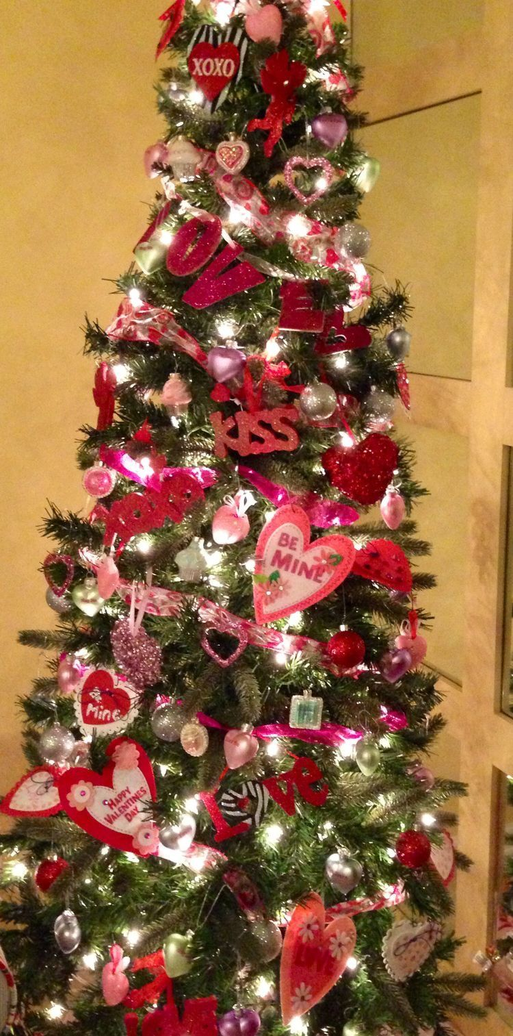 Valentine Tree Holiday Trees Pinterest Valentines Valentine
