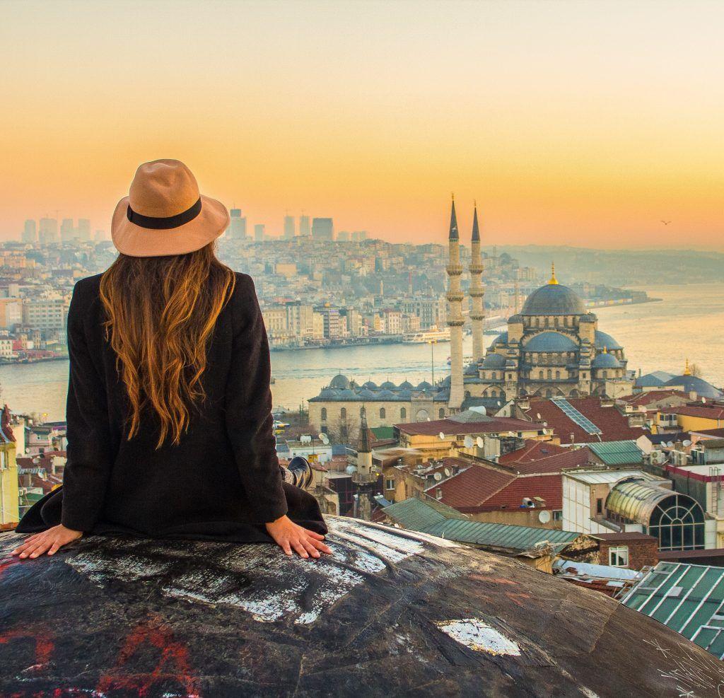 istanbul secret rooftop view solo female travel valide han byk valide han