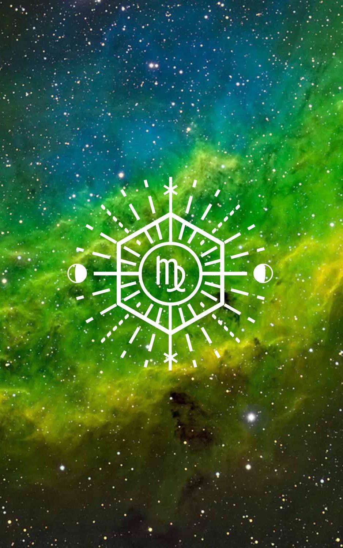 Virgo Zodiac Wallpaper Designed By Nestingzone In 2019
