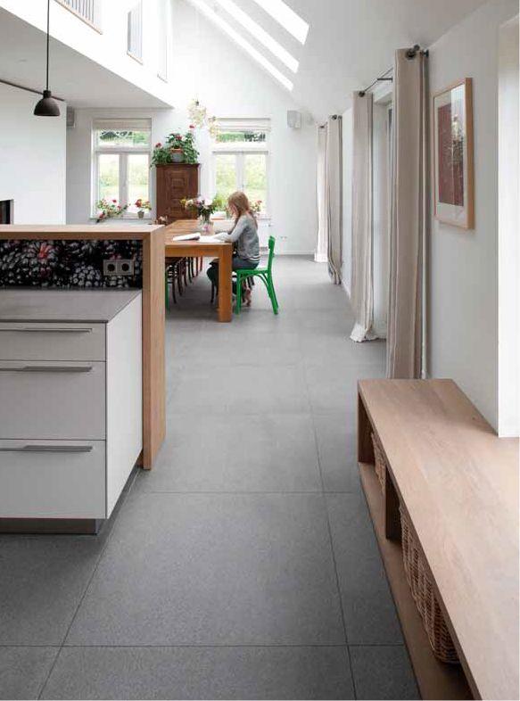 xxl fliesen von mosa in der k che und im wohnbereich. Black Bedroom Furniture Sets. Home Design Ideas