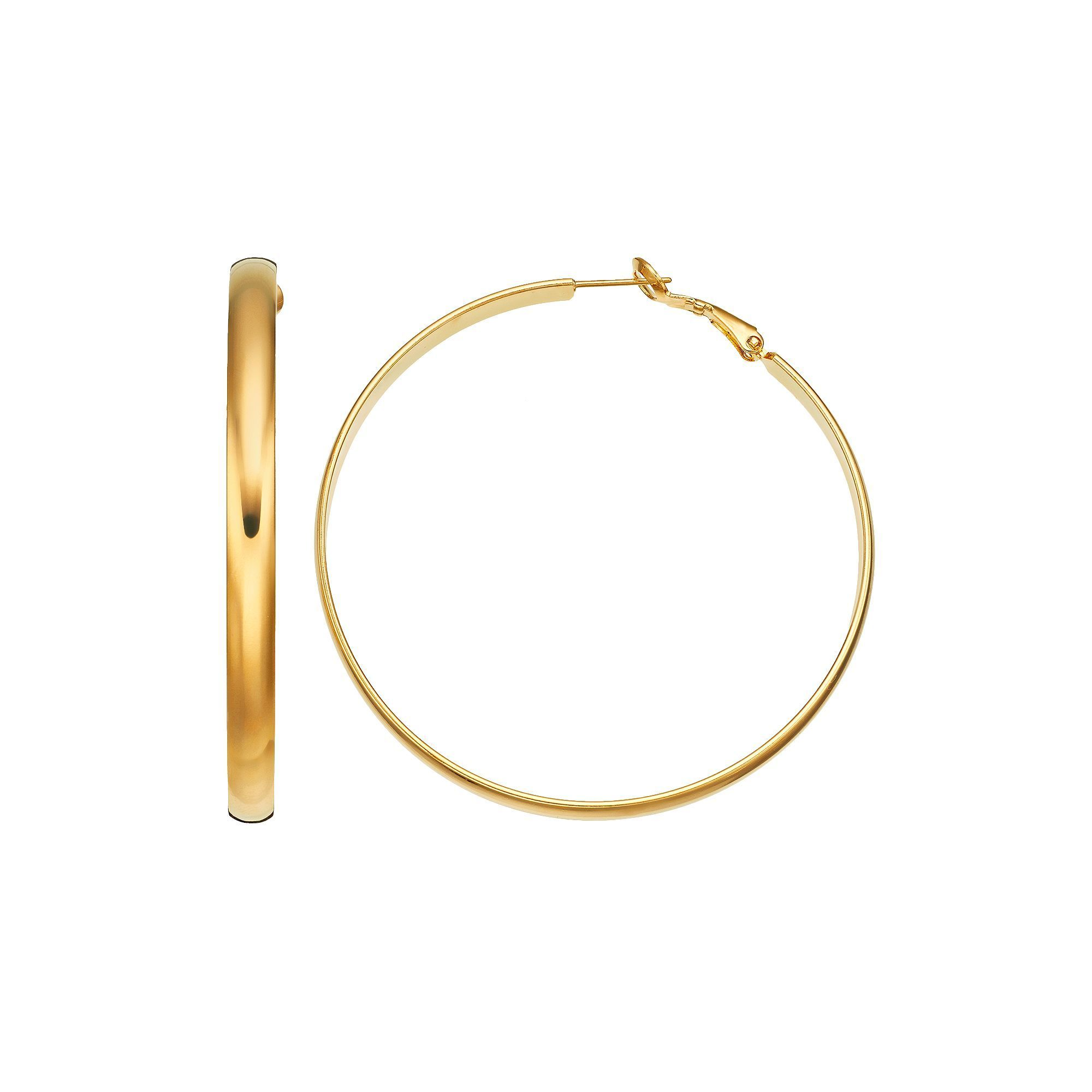 Kohl S 14k Gold Plated Hoop Earrings Products