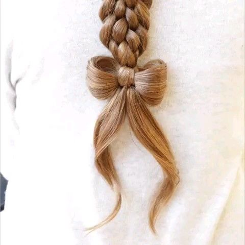 Cute Hair Bow DIY Tutorial  #hairupdotutorial