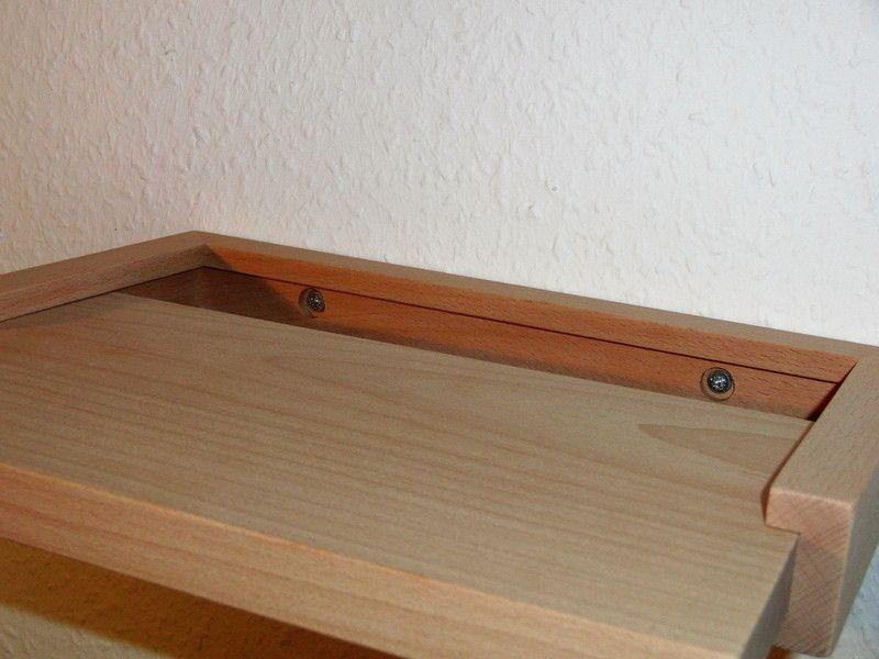 wandregale handyablage neu buche massiv holz wandboard ein designerst ck von massiv regal. Black Bedroom Furniture Sets. Home Design Ideas