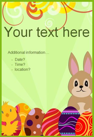 Editable Easter Poster 2   Free EYFS / KS1 Resources for Teachers ...