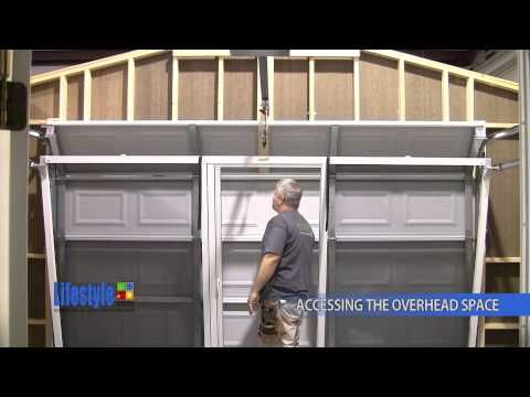 How To Access Overhead Spaces Lifestyle Screens Garage Screen Door Remodel Screen Door